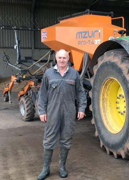 Mzuri strip tillage farmer of the year award in 2019
